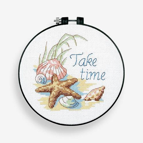 Take Time - 73060 Dimensions - Kit de punto de cruz