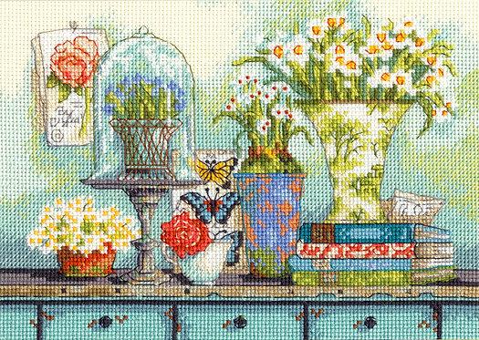 Garden Collectibles - 70-65194 Dimensions - Kit de punto de cruz