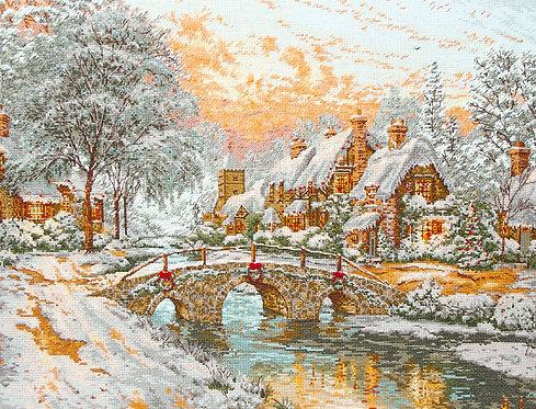 Cobblestone Christmas - Maia Collection - Kit de punto de cruz