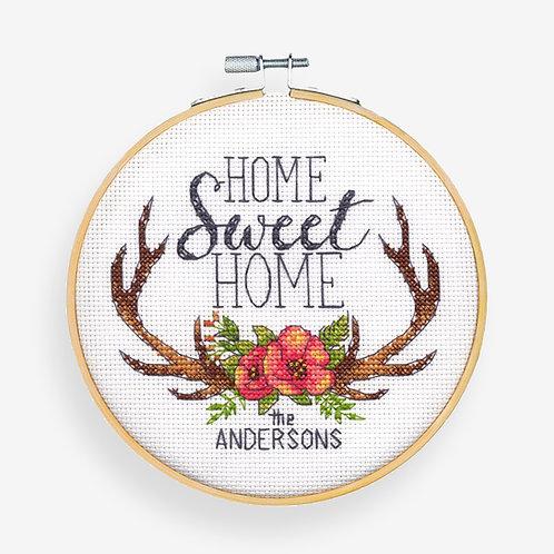 Home Sweet Home - 72-75984 Dimensions - Kit de punto de cruz