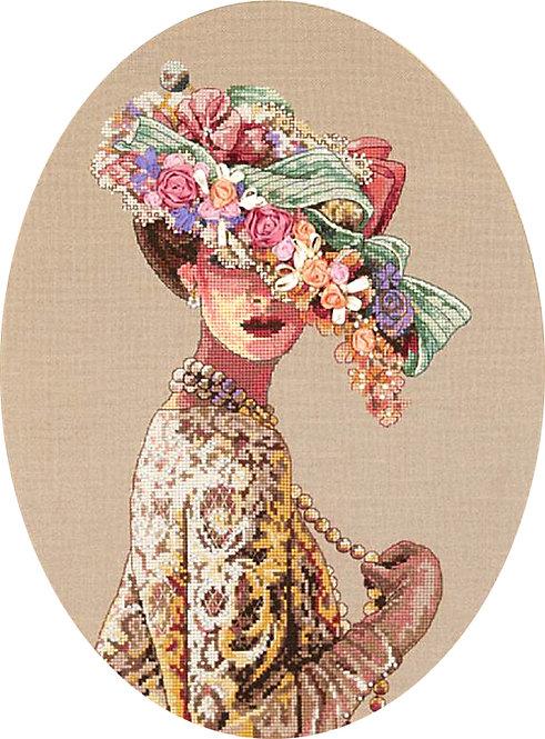 Elegancia Victoriana - 03823 Dimensions - Kit de punto de cruz