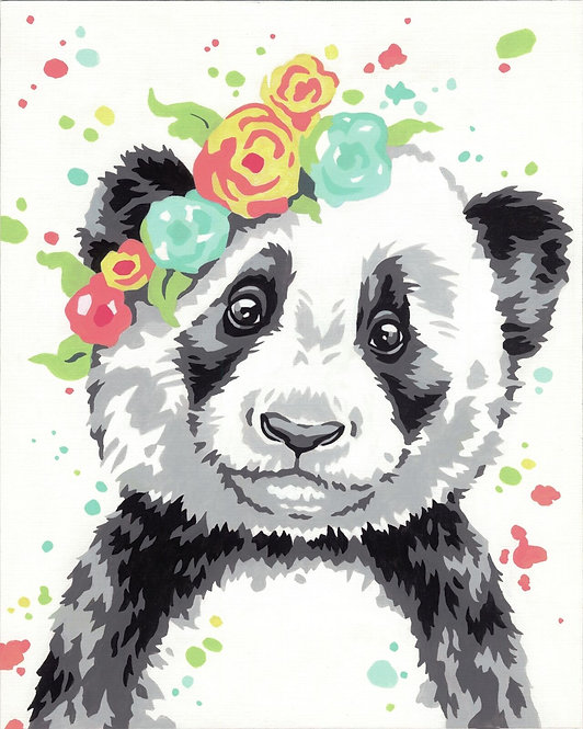 Panda - 73-91739 Dimensions - Kit de Pintura por número