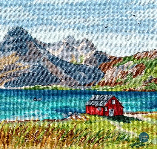 1280 Lslas Lofoten - OVEN - Kit de punto de cruz