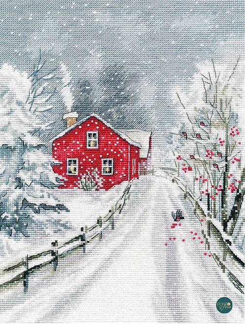 1241 Hechicera invierno - OVEN - Kit de punto de cruz