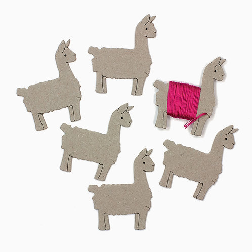 Llama Floss Keeper - 72-75976 Dimensions