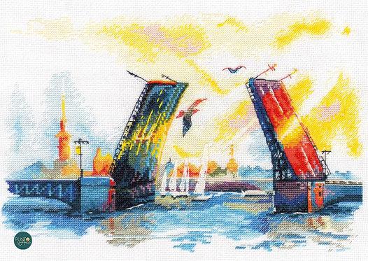 1003 Puente del Palacio - OVEN - Kit de punto de cruz