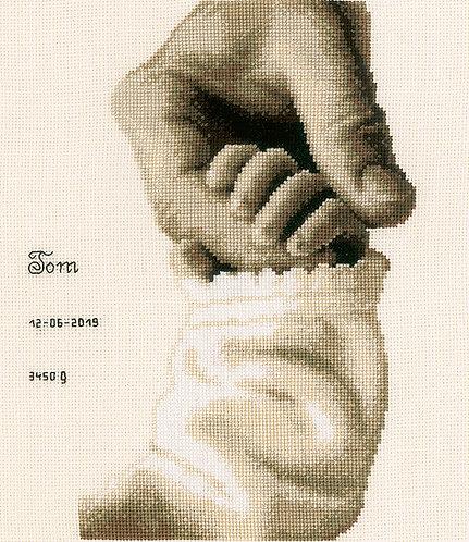 Amor de bebe - Vervaco - Kit de punto de cruz