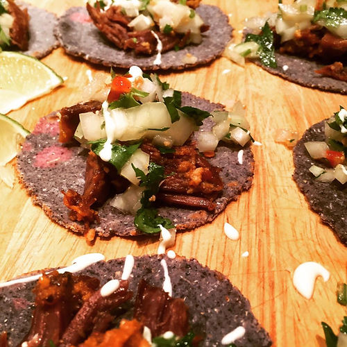 Goat Carnitas Tacos