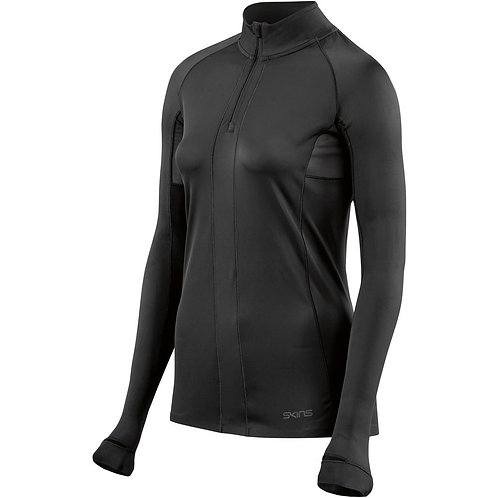 COMPRESSION DNAMIC BASE WOMEN LONG SLEEVE TOP WITH HALF ZIP