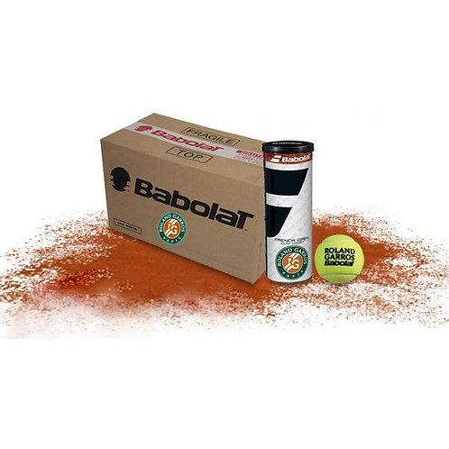 Carton de 18 tubes de 4 Balles Babolat French Open