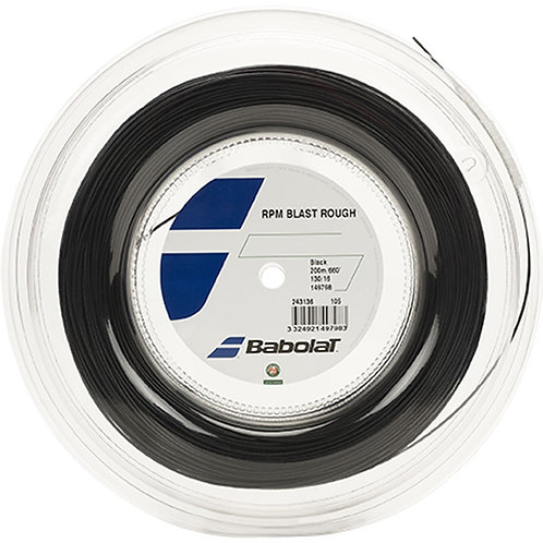 BOBINE BABOLAT RPM BLAST ROUGH 1.35 NOIR (200 METRES)