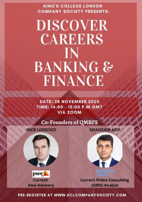 Discover Careers In Banking And Finance