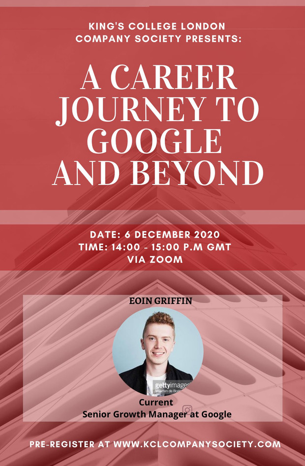 A Career Journey To Google And Beyond