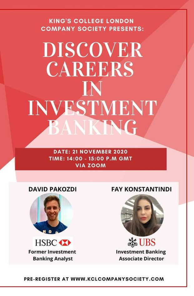 Discorver Careers In Investment Banking