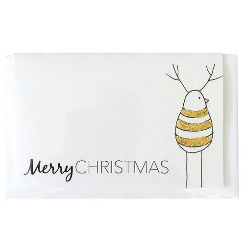 MERRY CHRISTMAS GUY Gift card