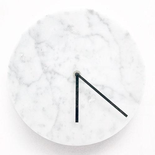 CARA Marble clock