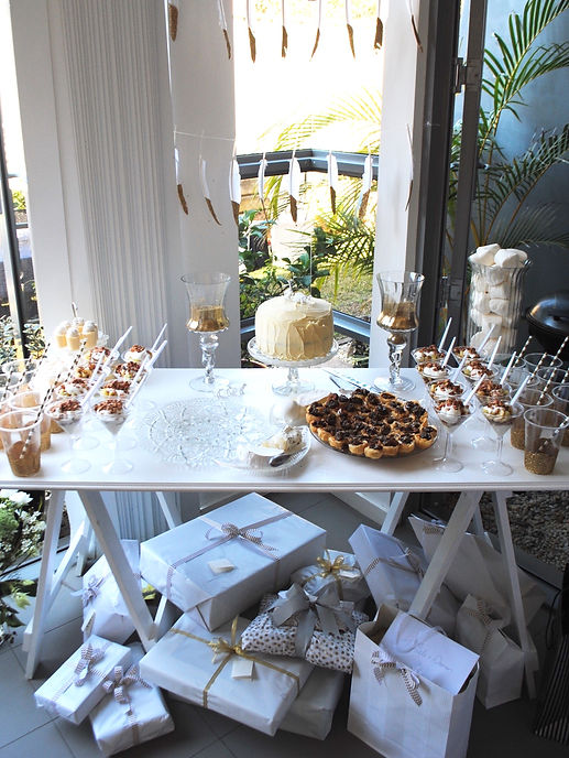 baby shower styling
