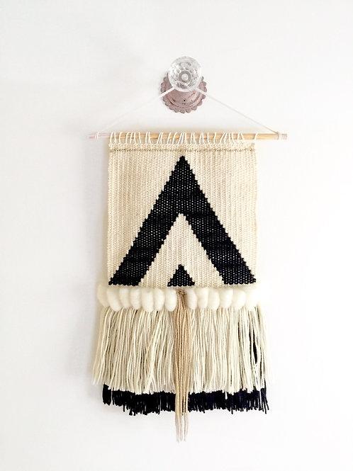The River Haze Shop. BOHEME woven macrame wool wall hanging