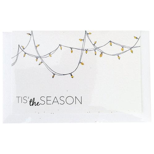 MERRY CHRISTMAS SEASON LIGHTS Gift card