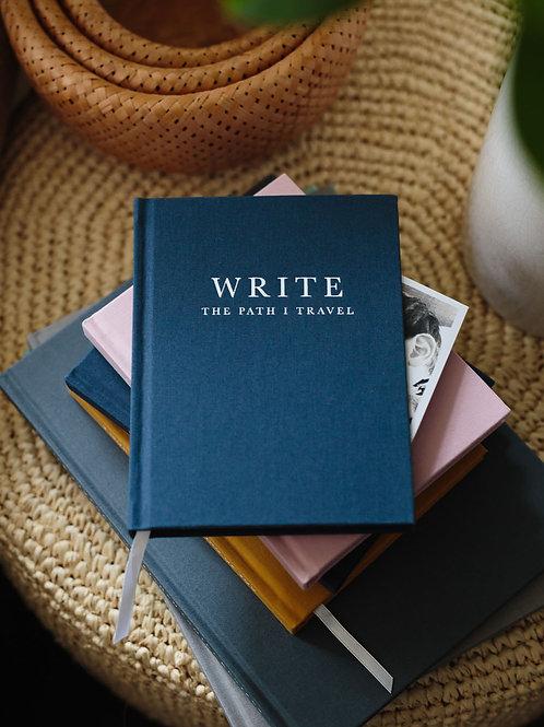 """Write to me """"WRITE"""" The path I travel"""