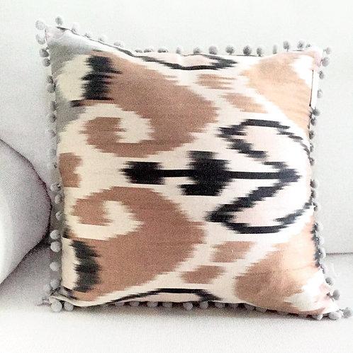 GREY ROSE cushion
