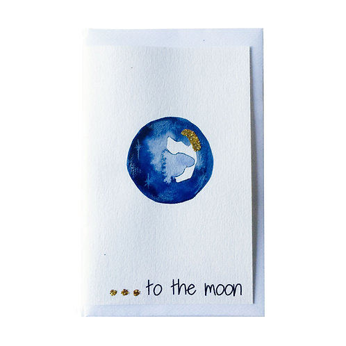 TO THE MOON Gift card