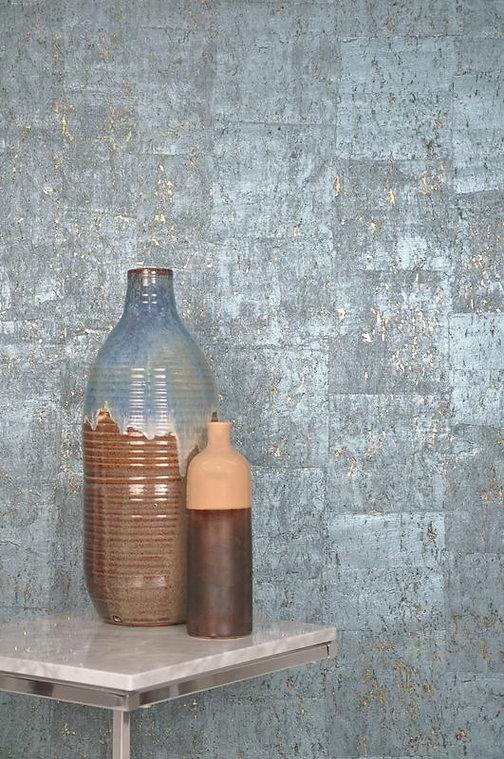 terracotta and metallic