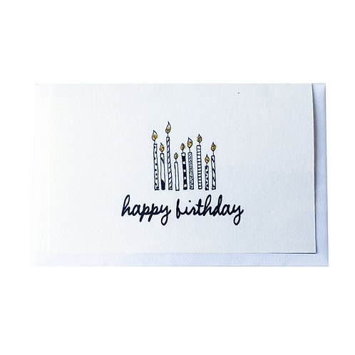 The HAPPY CANDLES Gift card