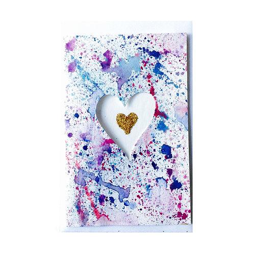 The HEART SPLUTTER Gift card