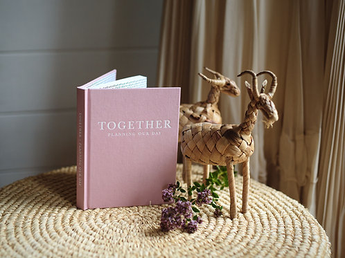 """Write to me """"TOGETHER"""" Planning our day"""