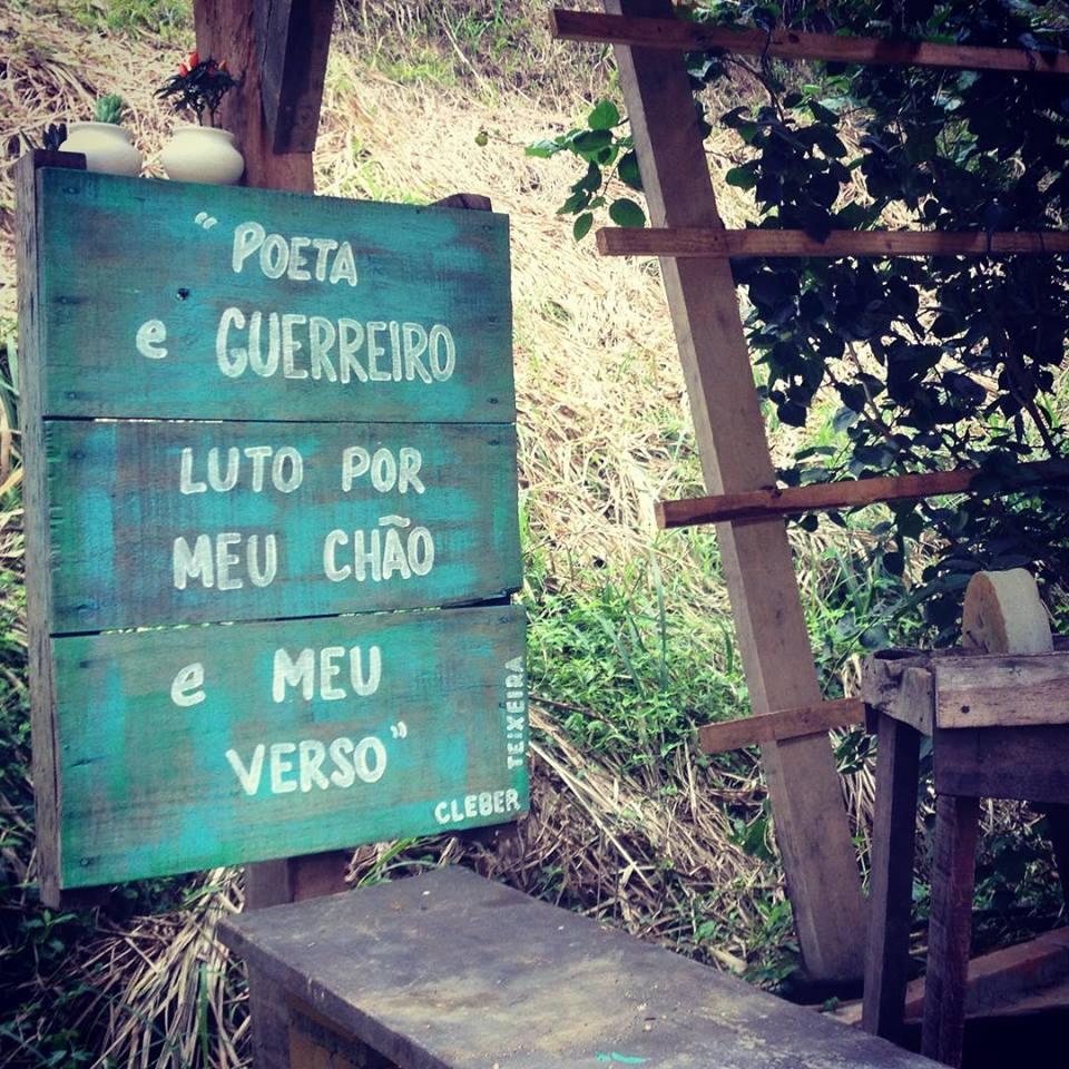 verso de Cleber Teixeira