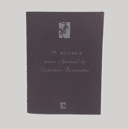 18 versos para o fuenral de Demétrio Panarotto