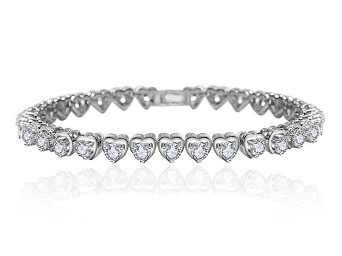 EVA Clear Cubic Zirconia Bracelet