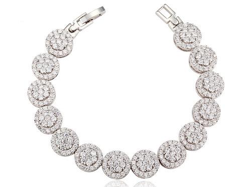 SCARLETT Clear Cubic Zirconia Bracelet
