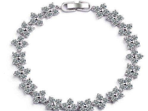 SARAH Clear Cubic Zirconia Bracelet
