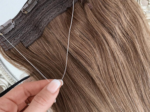 Halo Hair Extensions - fabulous hair in just minutes