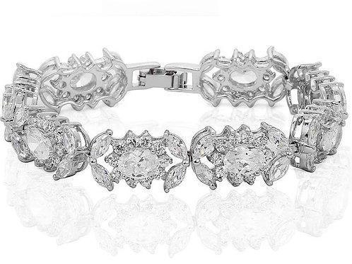 MIA Clear Cubic Zirconia Bracelet