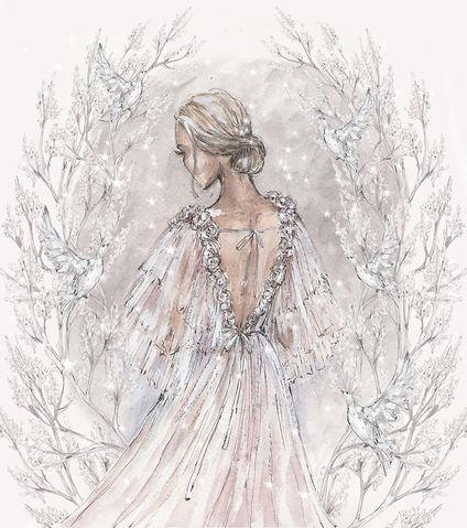 wedding dress boho collection