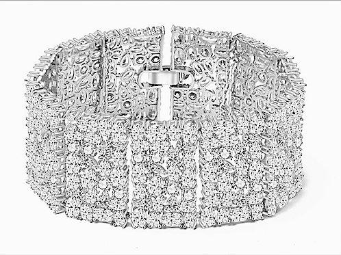 MOLLY Clear Cubic Zirconia Bracelet