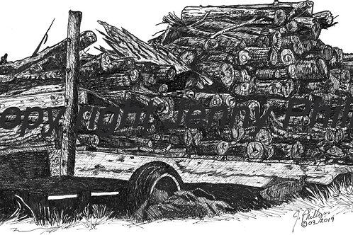 Firewood Wagon