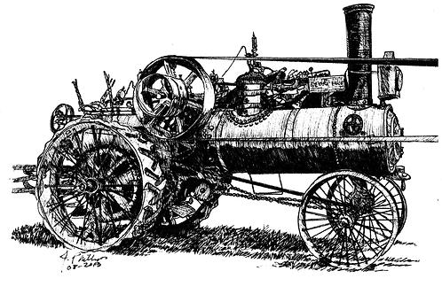 George White Steam Engine