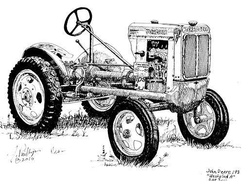 John Deere 193 Un-styled 'A'