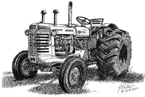 Oliver 'GM' Super 99 - Diesel