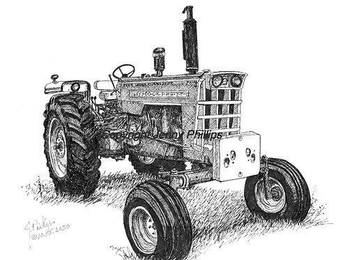 Cockshutt 1655 Diesel, Over/Under Hydraulic Shift