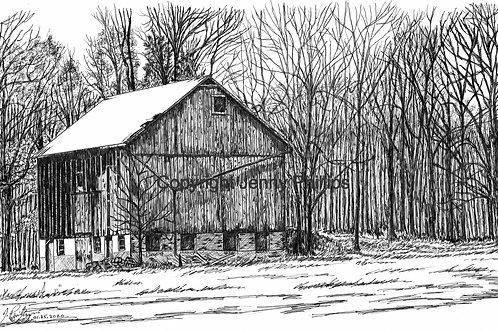 Bank Barn at Old Brick Kilns