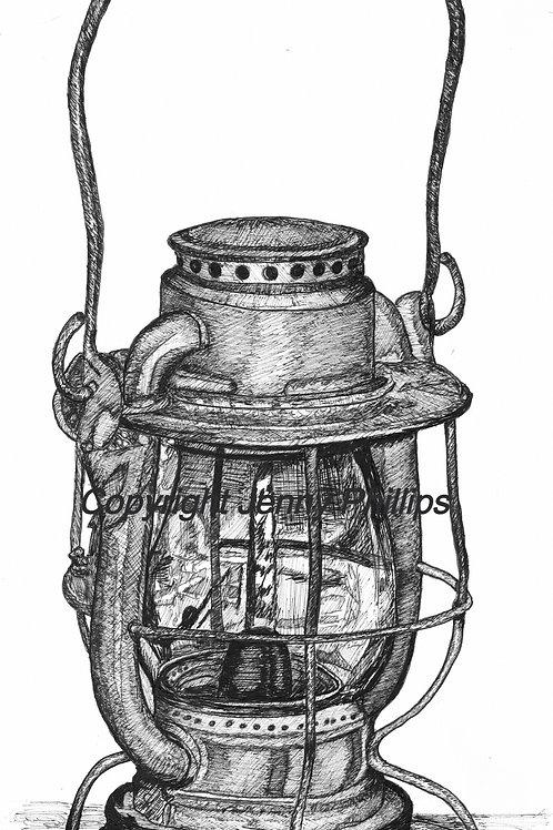 NYC Hand Lantern