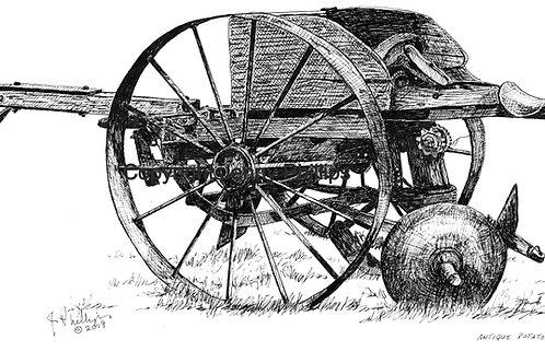 Potato Planter, Antique