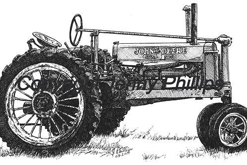 1935 John Deere General Purpose 'B' Tractor