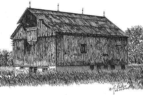 Barn w/Hay Loading Door