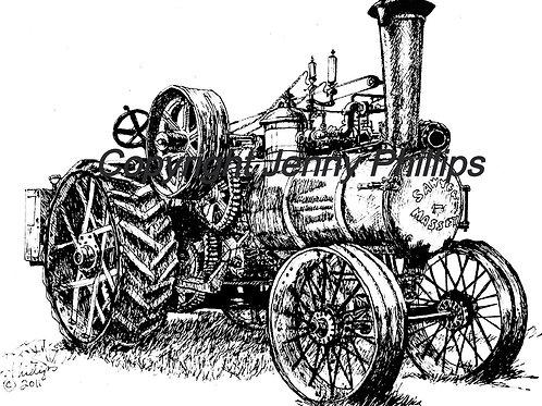 Sawyer Massey Steam Engine